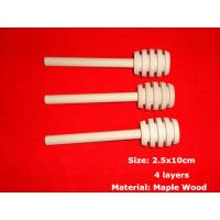 Quality Solid Wooden Honey Dipper 100% Natural Honey Dippers Wooden Honey Stick Pack Honey Dipper Wedding Favor Genuine 10x2.5cm wholesale