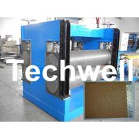 Quality Color Steel Embossing Machine For Garage Door, Refrigerator, Decorative Materials wholesale