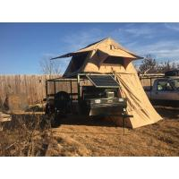 Quality Water Resistant 4x4 Roof Top Tent Easy Operate With Side Awning CE Certificated wholesale