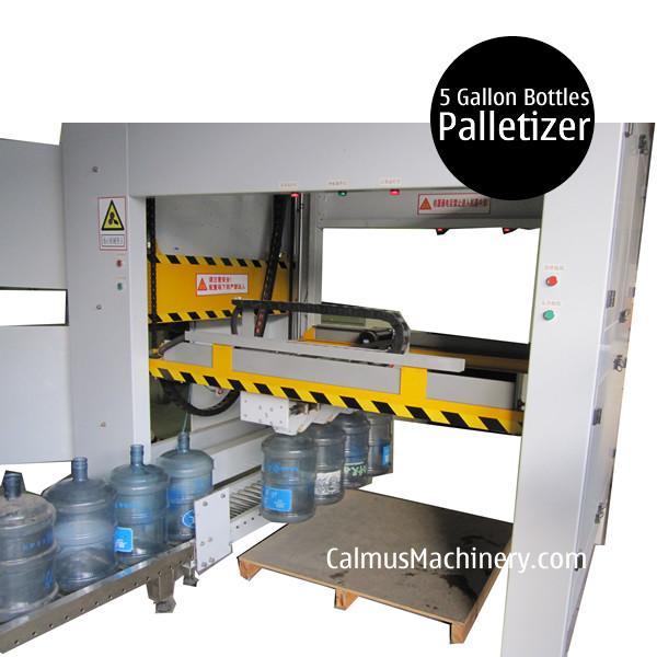 Cheap Semi-automatic 5 Gallon 19L 20L Bottle Palletizer for sale