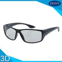 China PC Plastic Polarized Circular Passive 3D Glasses For Movies on sale