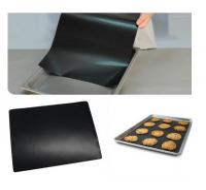 Black Polytetrafluoroethylene PTFE Etched  Sheet Heat-resistant