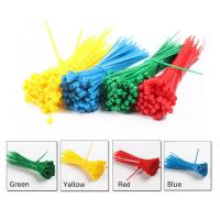 Quality High Temperature Resistant Nylon 66 Cable Ties , Colorful Selflocking Nylon Tie Wraps wholesale