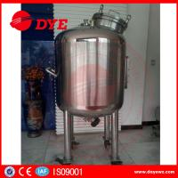Quality Sanitary Stainless Steel Mixing Tanks Heat Preservation Magnetic Agitator Dense wholesale