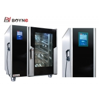 China Multifunction Commercial Kitchen Cooking Equipment Touch Screen Combi Oven on sale