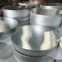 Cheap Mill Finish Anodised Aluminium Discs , Aluminum Discs Blank With High Brightness for sale