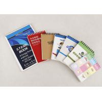 Quality Promotional Stationery Journals Notebooks , Spiral Paper Notebook With Pen wholesale