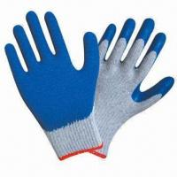 Quality Latex Coated Hand Gloves with Napping Lining wholesale