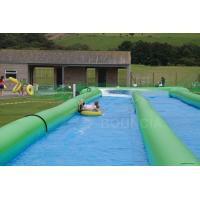 Buy cheap 100m Giant Inflatable Slip N Slide With Pool For Kids and Adults product