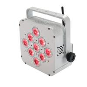 China Wifi Control Adj Battery Powered Uplights , 9*15w  Rgbw Led Par Can on sale