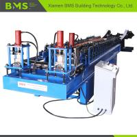 Quality Stable Dual Door Rail Roll Forming Machine Convenient Operate Highly Efficient wholesale