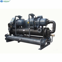China 200 kW ~ 1400 kW Water Cooling System Refrigeration Equipment Water Cooled Chiller Price For HDPE Pipe Extruder on sale