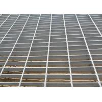 China Welding Heavy Duty Steel Grating , Steel Stair Treads Grating Raw Material on sale