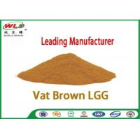 Quality Professional Synthetic Dyes Vat Brown Lgg Natural Textile Dyes Eco Friendly wholesale