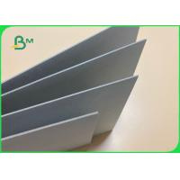 China 100% Recycled 1mm 2mm Thick Grey Cardboard Sheets For Package Box on sale