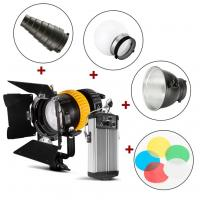China 80W Spotlight LED Studio Lights Dual Color Temperature Control With Hight CRI Index on sale