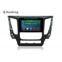 Quality Mitsubishi  Pajero Gps Navigation System For Cars with DVD OBD TPMS supported wholesale