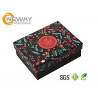 Quality Colorful 210gsm 250gram Ivory Board Gift Flower Paper Box With Clear Lids wholesale