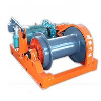 Quality Speed Change Electric Wire Rope Winch , Moving Heavy Loads 3 Ton - 20 Ton wholesale
