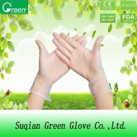 Quality Transparent  Soft Disposable P Free Vinyl Gloves With Stretchy PVC wholesale