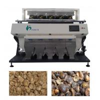 China LED 10 Screen Coffee Bean Color Sorter Machine At 2.6 Host Power For Grain on sale