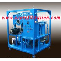 Cheap VTP Single Stages Vacuum Transformer Oil Purifier for sale