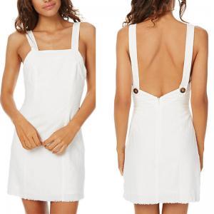 China Summer elegant women casual white dress on sale