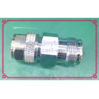 Buy cheap 4.3-10 adaptor male plug to 4.3-10 female jack VSWR 1.15 silver plated pin and tri-alloy connector body high quality from wholesalers