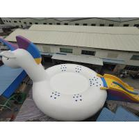 Quality 0.9mm PVC Tarpaulin Inflatable Unicorn For Water Park Beach wholesale