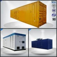 Quality Sixteen Cylinder Container Generator Set 780-975 Kw / Kva With VMAN Diesel Engine wholesale