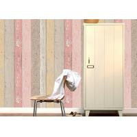 Quality Colorful Wood Foam Waterproof PVC Vinyl Wallpaper Vertical Stripe Wallpaper wholesale