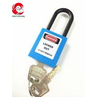 China ZC-G11 Blue Nylonl shackle electrical lockout devices, safety padlock manufacturers on sale