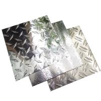 Quality 3003 H24 Aluminium Diamond Plate Aluminum Checker Plate  4ft * 8ft High Performance wholesale
