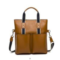 Quality Wholesale 2014 New designer fashionable top layer cowhide business men's/male's  bags wholesale