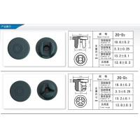China Butyl Rubber Stopper 20mm 20-D2 on sale
