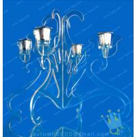 Quality CH (27) tall Acrylic hurricane candle holders wholesale