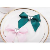 Quality Decoration Tie Satin Ribbon Bow Washable Home Textile With Dyeing wholesale
