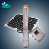 Quality Safety DC Powered Submersible Deep Well Pumps 5hp Dry Running Capability wholesale