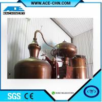 Cheap Copper Alcohol Distillation Equipment System For Sale & Copper Whiskey Still for sale