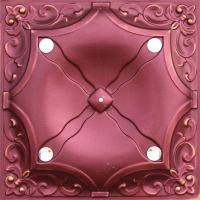 Quality Red Decorative Interior Wall Paneling Metal Texture Panels Flexible wholesale