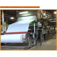 Quality toilet paper roll making machine with 7t/d capacity,paper machine wholesale
