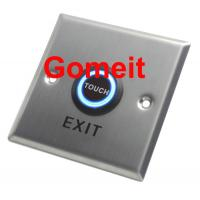 Quality Customized Home / Hotel Automatic Door Exit Button NC / NO COM Output 86 X 86 X 25mm wholesale