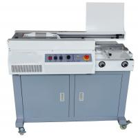 Quality 320mm A4 Binding Machine , Perfect Book Binding Machine With Sun Milling Cutter wholesale