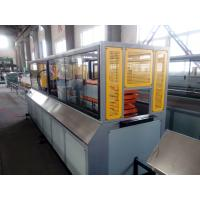 China Automatic Wood Plastic Composite Production Line With High Intensity on sale