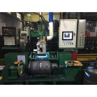 China Gas Bottle Welding Cnc Spinning Lathe Machine For Natural Gas Pressure Vessel Making on sale