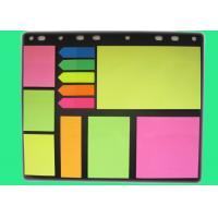 China Colorful Sticky note set with different sizes PET and paper for office on sale