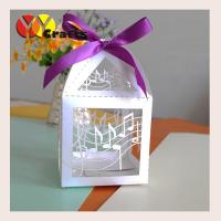 Quality Luxury good quality small paper wedding sugar box and candy packaging box wholesale