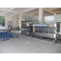 Automatic Single / double nozzle drinking water filling machine for pet bottle / glass bottle