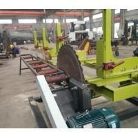 Buy cheap 1200mm Circular Blade Sawmill for logs cutting with Automatic Sports Car/Carriage from wholesalers