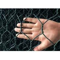 China Erosion Control Zinc Coated Wire Mesh , PVC Coated Galvanized Wire Mesh on sale